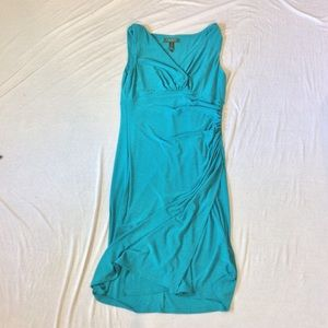 Turquoise Ralph Lauren Sleeveless Dress sz 10